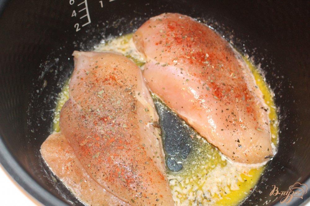 Куриное филе тушеное в сливках рецепт пошагово с