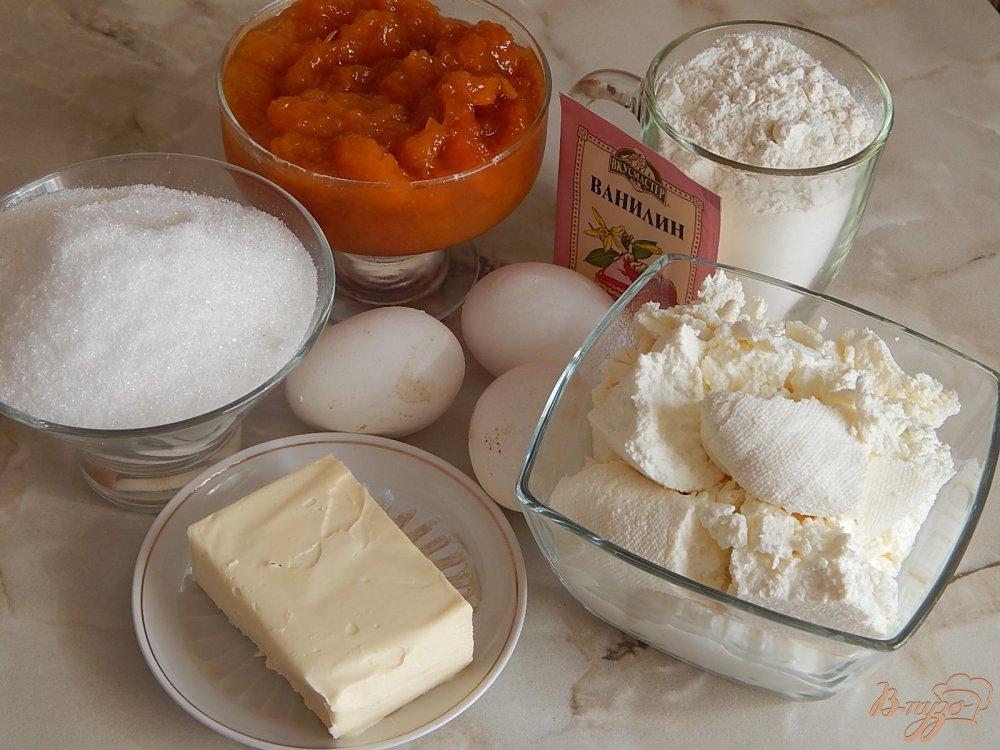Пирог насыпной с творогом рецепт