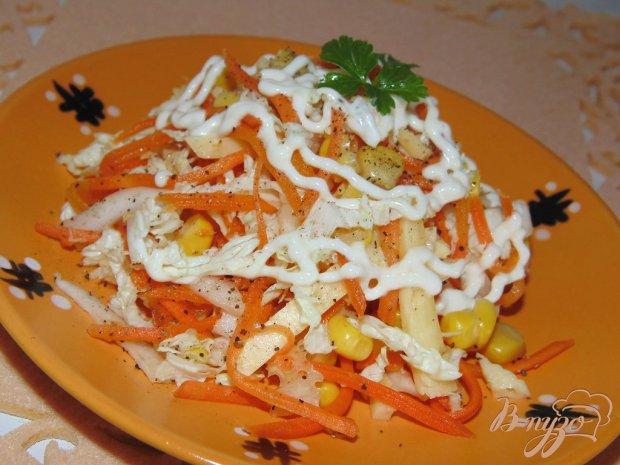 рецепт салата из пекинской капусты по-корейски порода