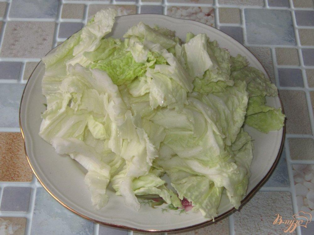 Фото салатов из пекинской капусты