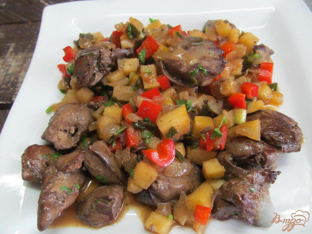 Рецепты блюд о из куриной печени