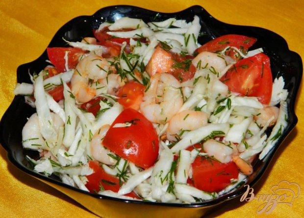 Салат из креветок и пекинской капусты рецепт 61