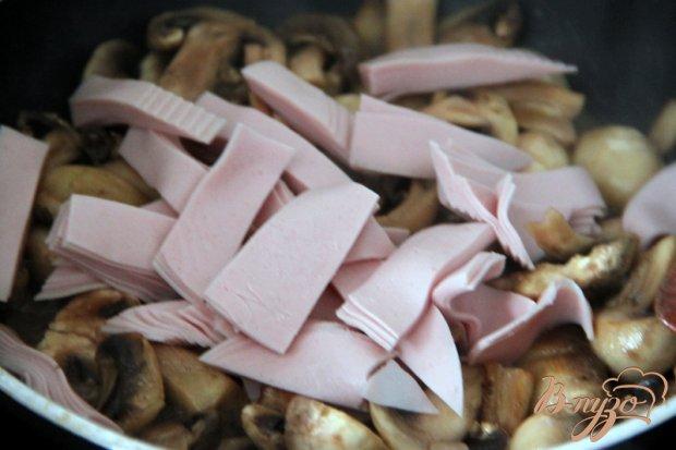 Как приготовить колбасу грибы и картошку