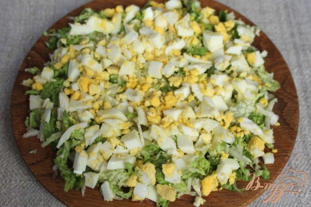 рецепт салата с пекинской капустой и ветчиной