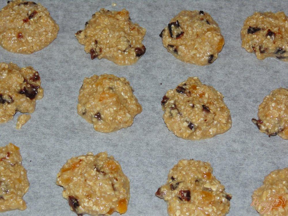 Овсяное печенье с черносливом рецепт