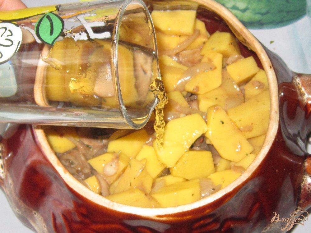 Запеченный картофель в горшочке рецепт