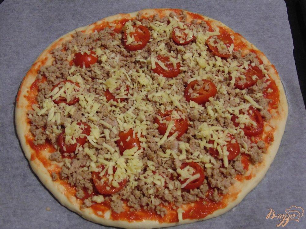 с пошагово пицца фото фаршем с