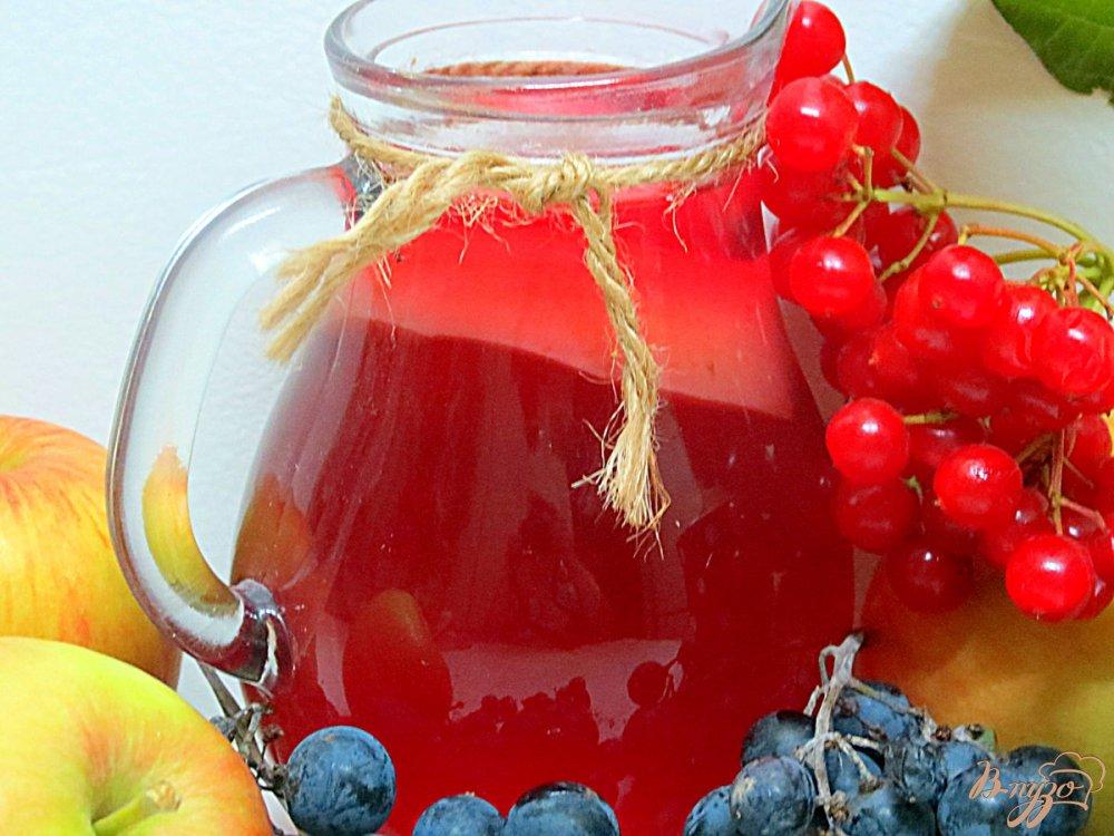 Компот из винограда и яблок рецепт